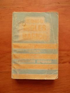 Libro Inglés Básico Augusto Ghio 1982