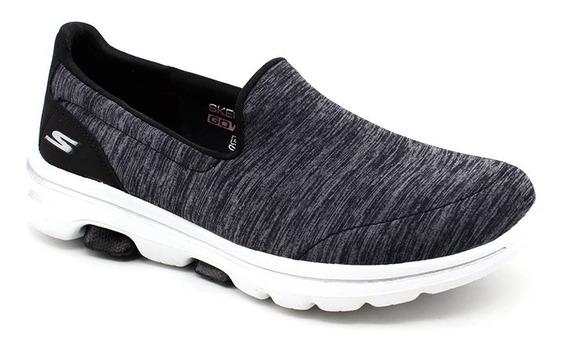 Tênis Feminino Skechers Go Walk Joy 5 15903 Preto