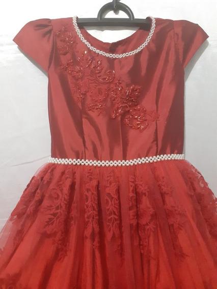 Vestido Infantil De Renda - Menina Boneca