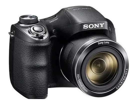 Câmera Sony Cyber Shot Dsc H300 Zoom 35x Tela 3.0 - Com Nfe