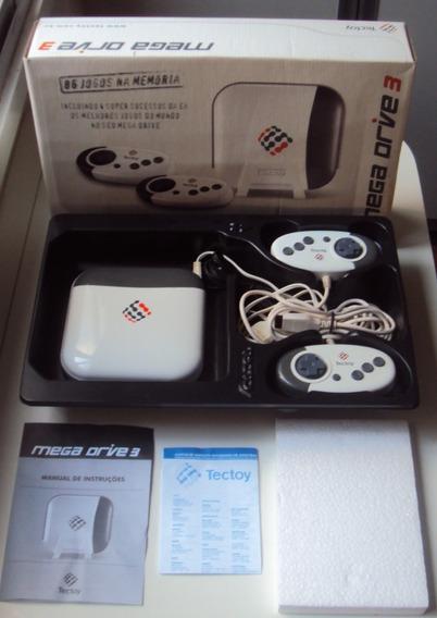 Mega Drive 3 Tec Toy Com 86 Jogos Na Memória - Md3