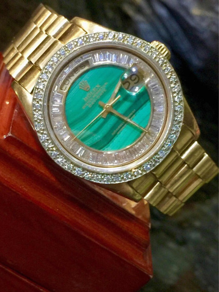 Rolex Presidente Con Diamantes