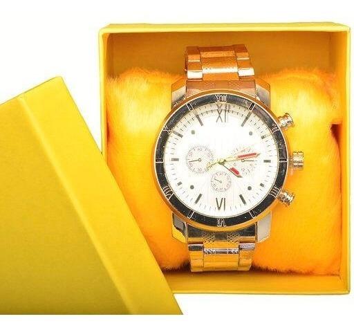 Kit 10 Relógios Luxo Masculino Atacado Revenda + Caixa Luxo