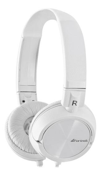 Headphone Fone De Ouvido Fortrek Hpf501 Branco Original Novo