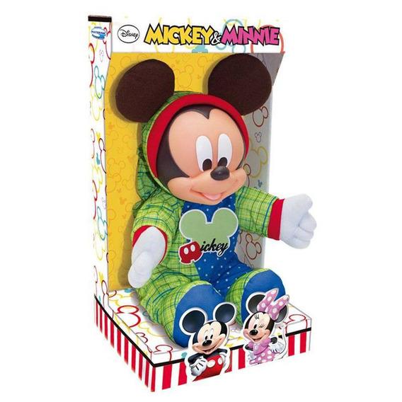 Pelúcia Mickey Mouse Kids - Multibrink - 6154