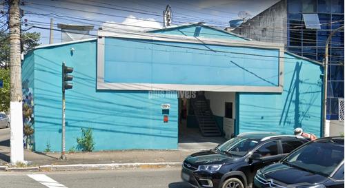 Galpão Em Avenida De Ligação Pinheiros, Duas Frentes, Local Muita Exposição, Esquina, Zoneamento Zpr - Mi130113