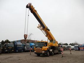 Camión Scania 124/420 Con Grúa Telescópica Ormig 804 Ac