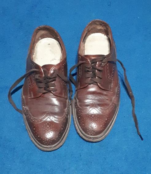 Zapatos De Vestir Febo De Hombre, Talle 42, Cuero Marrón