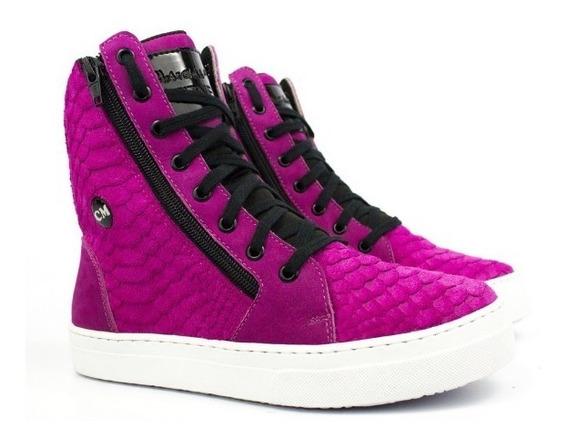 Tênis Academia Cano Alto Botinha Feminina Sneaker Street Box