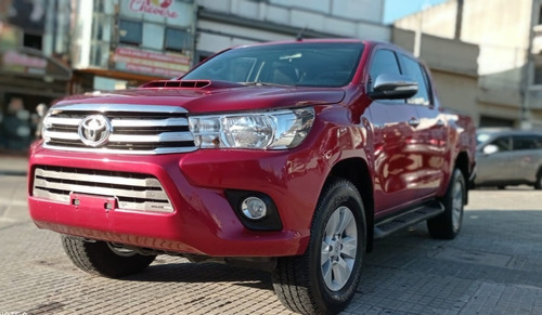 Toyota Hilux Srv Diesel 4x2 2018. Impecable!!