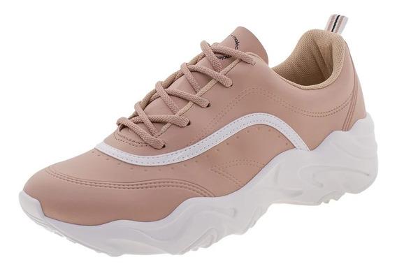 Tênis Moleca Chunky Dad Sneaker Sola Alta