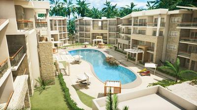 Apartamento En Playa Coral Punta Cana En Venta