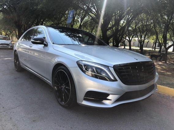Mercedes Benz S500l Sedan 2014 Plata 33,000 Kilometros