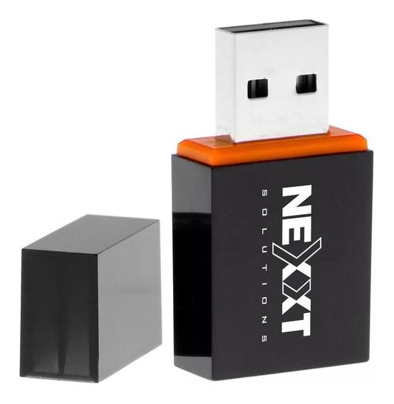 Adaptador Usb 2.0 Wifi Nexxt Lynx 301 300 Mbps Pc Wps - Mza