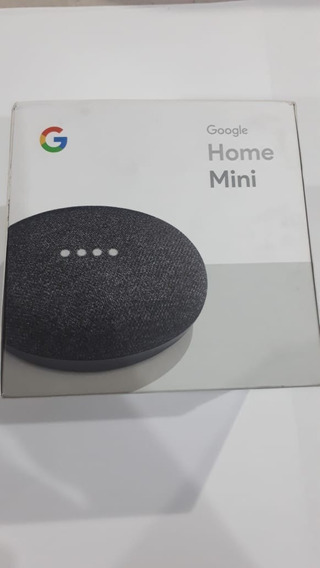 Caixa De Som Assistente Virtual Google Home Mini