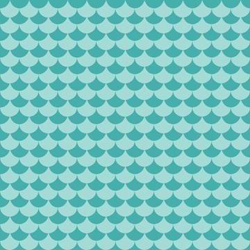 Papel De Parede Adesivo Rolo 0,58x3,00m Sereia Peixe 2496 0,