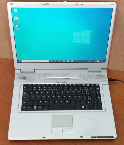 Notebook Itautec W7645 Funcionando - Leia Descrição