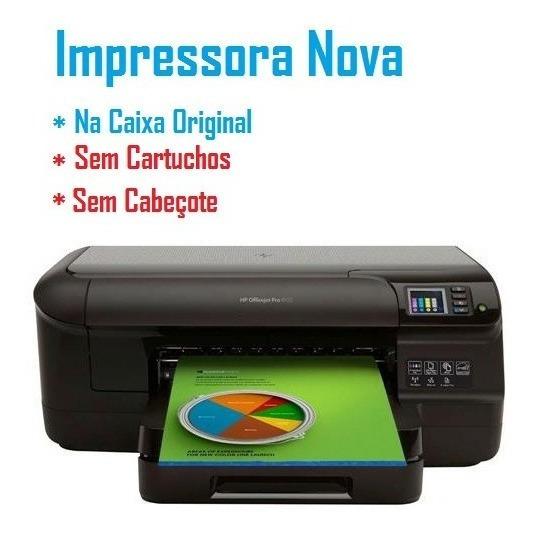Impressora Hp 8100 - S/ Cabeça S/ Cartucho - Nova Na Caixa