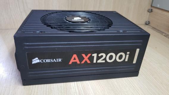 Fonte Corsair Ax1200i 80 Plus Platinum Pc Gamer Intel Amd