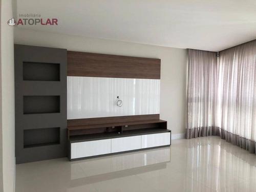 Apartamento À Venda, 165 M² Por R$ 1.700.000,00 - Fazenda - Itajaí/sc - Ap2440