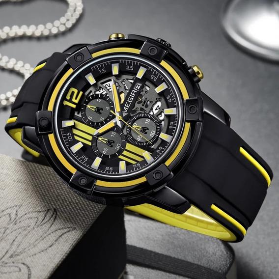 Reloj Megir Militar, Modelo 2019