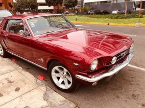 Auto Clásico Ford Mustang Del Año 65
