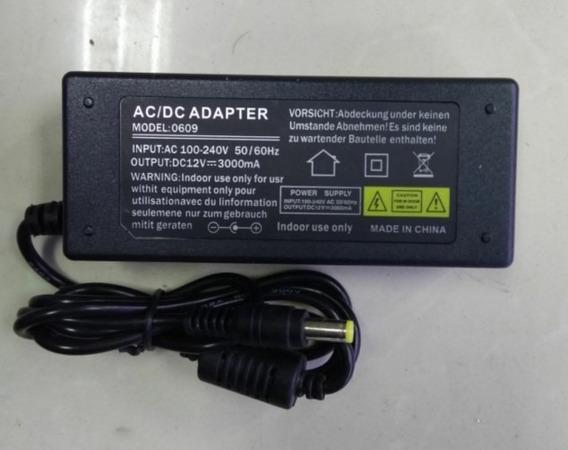Fonte Dc12v 3000 Ma 50/60hz Ac 100-240 Sdk-0609
