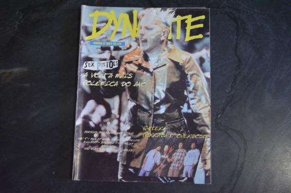 Dynamite 22 Sex Pistols Revista