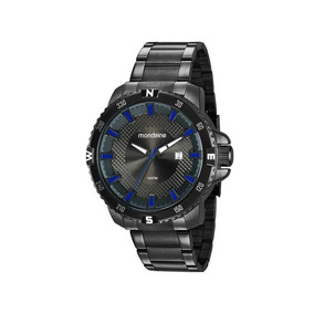 Relógio Mondaine Masculino Preto Fosco 53646gpmvps1