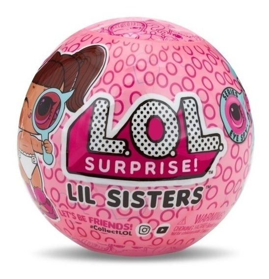 Boneca Lol Surprise Lil Sisters Serie 4 Eye Spy Decoder 8901