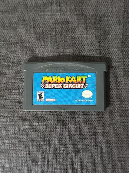 Jogo Mario Kart - Game Boy Advance - Gba - Original