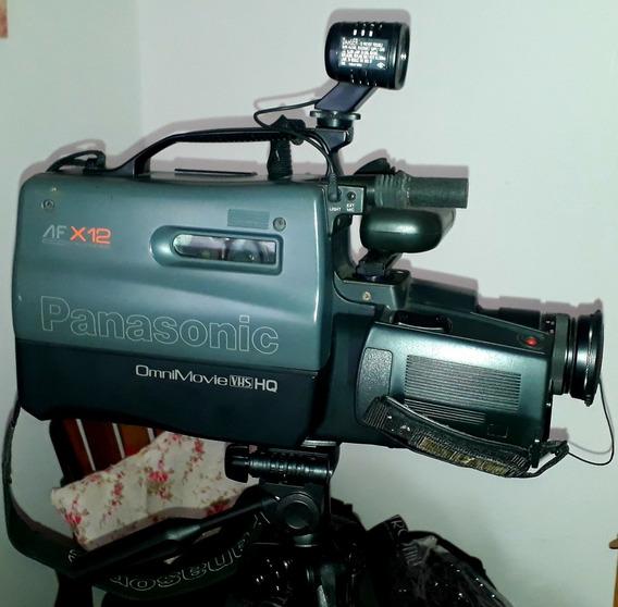 Filmadora Panasonic Omnimovie Vhs Hq