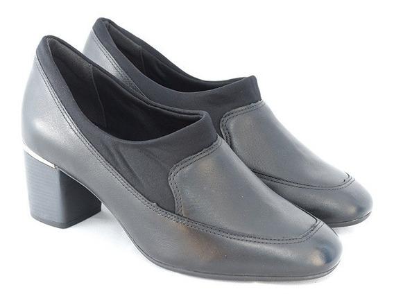 Sapato Comfortflex 1867305 Preto 100% Original