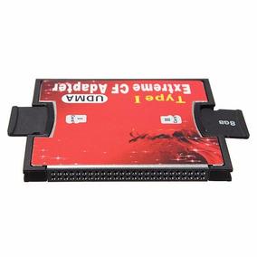 Adaptador Cartão Microsd Para Compact Flash