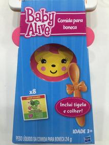Baby Alive Comida Para Boneca Inclui Tigela E Colher