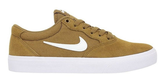 Tênis Nike Sb Chron Solarsoft Golden Beige White