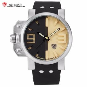 Relógio Pulso - Shark Sport Original - 45mm - Inox - Hardlex