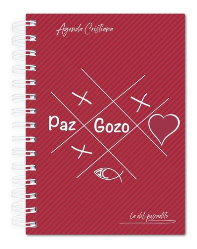 Imagen 1 de 5 de Agenda Cristiana 2022 - Tapa Dura (art. 1086) 15cm X 20cm