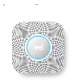 Alarma Smart De Humo Y Gas Nest Habla Español.wifi Y App!