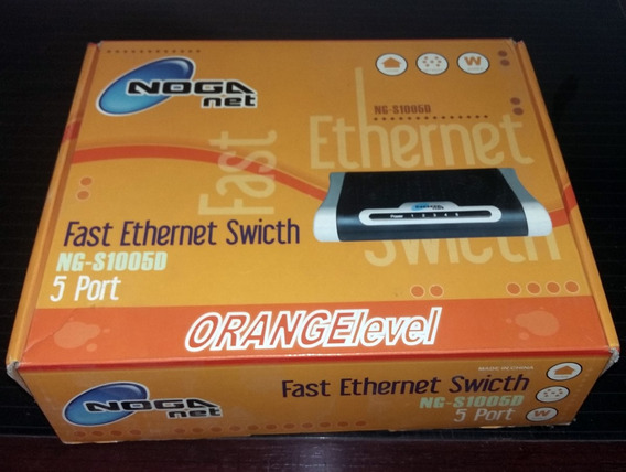 Fast Ethernet Swicht Noga Ng-s100sd