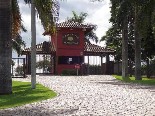 Imagem 1 de 4 de Terreno À Venda, 1000 M² Por R$ 235.000,00 - Plaza Ville - Jaguariúna/sp - Te1803