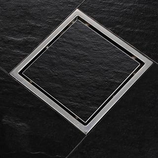 Coladera De Acero Inoxidable Sus304, 11x11cm Para 2 Pulgadas
