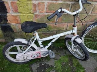 Bicicleta Usada De Dálmatas A Reparar