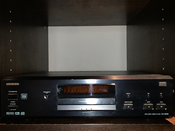 Dvd Audio - Video Player Onkyo Dv-s939