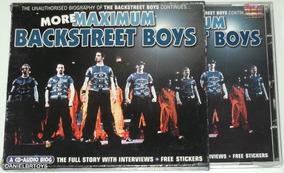Cd More Maximum Backstreet Boys Importado 1999 Com Stickers