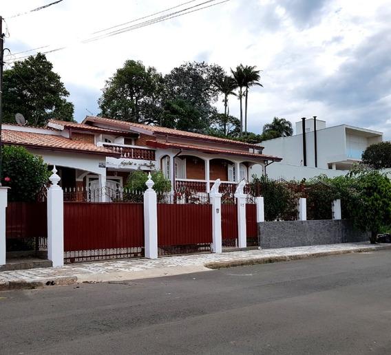 Casa Área Nobre Serra Negra Sp, 6 Quartos, Piscina Aquecida