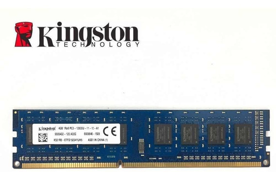 Memoria Ram Kingston Ddr 3 4gb 12800u