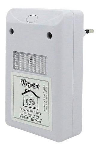 Repelente Eletrônico P/ Rato Baratas Insetos Elétrico Fr Gra