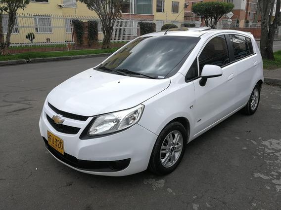 Chevrolet Sail Hb Ltz Mt1400cc Blanco Galaxia Aa Ab Dh Ct