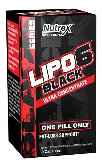 Lipo 6 Black Uc 60 Cap Nutrex Quemador - Envio Gratis